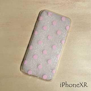 IP004 ドット柄 iPhoneケース ドットピンク XR