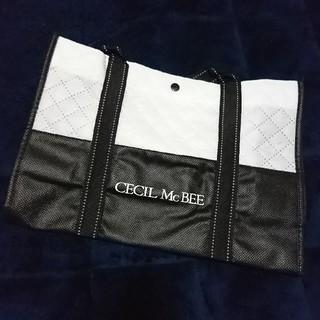 セシルマクビー(CECIL McBEE)のセシルマクビー(CECIL McBEE)ショップバック 不織布(ショップ袋)