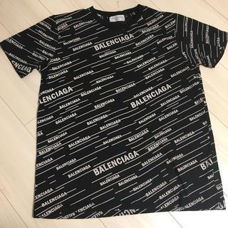 バレンシアガ ロゴTシャツ
