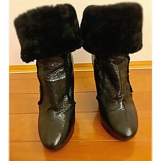 ジミーチュウ(JIMMY CHOO)のジミーチュウ 34サイズ かかと11センチ(ブーツ)