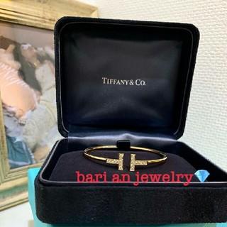 Tiffany & Co. - ✨ティファニー好き✨ Tワイヤーブレスレット✨ゴールド