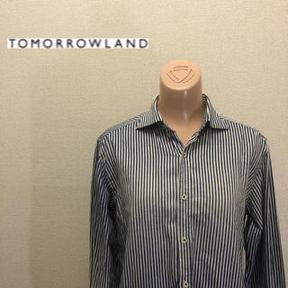 TOMORROWLAND - TOMORROWLAND トゥモローランド ストライプシャツ