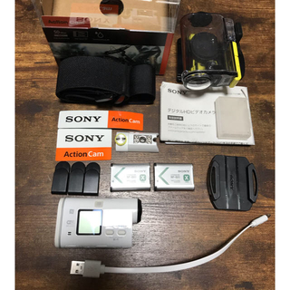 SONY - SONY Action cam  HDR-AS100V アクションカム 中古