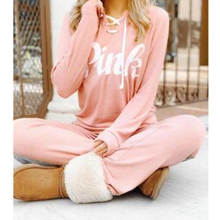ヴィクトリアズシークレット(Victoria's Secret)のヴィクトリアシークレット PINK 上・下セット XS 新品(トレーナー/スウェット)