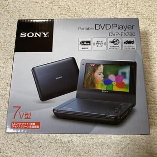 SONY - 7v型 DVD Player DVP-FX780 ブラック
