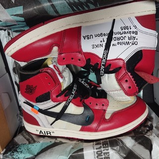 OFF-WHITE - dude9 aj1 オフホワイト ナイキ NIKE off white the