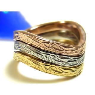 ジュエリーステンレスリング/指輪 ハワイアン
