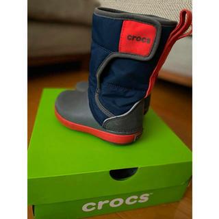 crocs - クロックス スノーブーツ ウィンターブーツ 15センチ