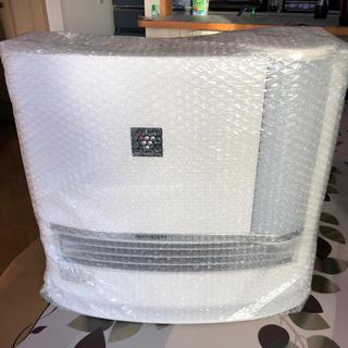 SHARP - シャープ 加湿セラミックファンヒーター ホワイト系 HX-H120-W