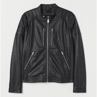 H&M - 【H&M】2019新作&新品 ライダース ジャケット Lサイズ