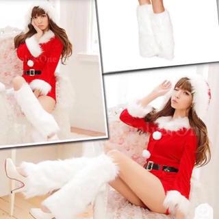 レッグウォーマー ★ クリスマス 即購入OK サンタ コスプレ に合わせて使お♪