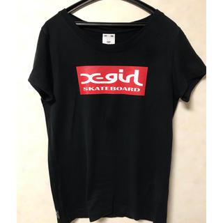X-girl - X-girl ボックスロゴTシャツ