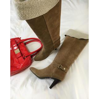 STRAWBERRY-FIELDS - 美品 ストロベリーフィールズ ブーツ 23cm