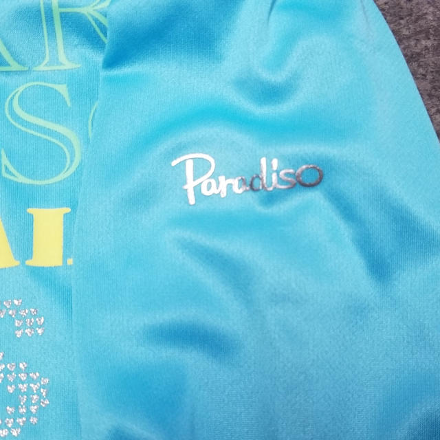 Paradiso(パラディーゾ)のPARADISO長袖Tシャツ ブルー スポーツ/アウトドアのテニス(ウェア)の商品写真