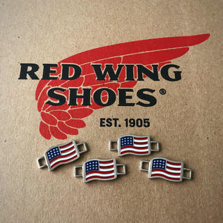 レッドウィング(REDWING)の【レッドウィング】非売品 純正レースキーパー(星条旗) 4個2組(ブーツ)