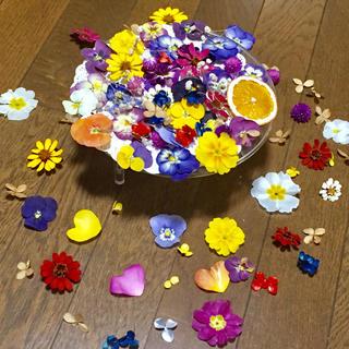 お花屋さんが作った11種の可愛いドライフラワーmix