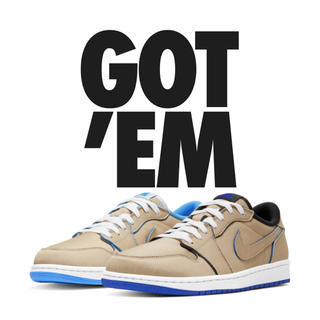 "NIKE - NIKE SB × AIR JORDAN 1 LOW ""DESERT ORE"""