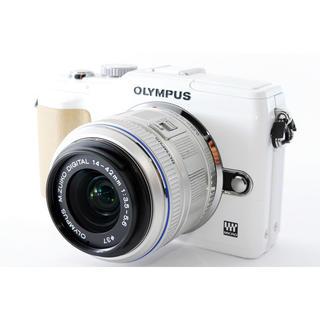 OLYMPUS - 新品SDカード 元箱付☆OLYMPUS E-PL2 レンズキット☆小型軽量