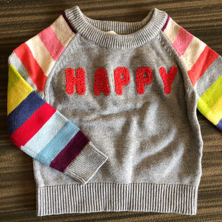 babyGAP - baby gap HAPPY ロゴセーター 90