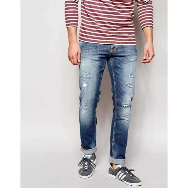 Nudie Jeans(ヌーディジーンズ)のNudie Jeans LONG JOHN Stian Replica メンズのパンツ(デニム/ジーンズ)の商品写真