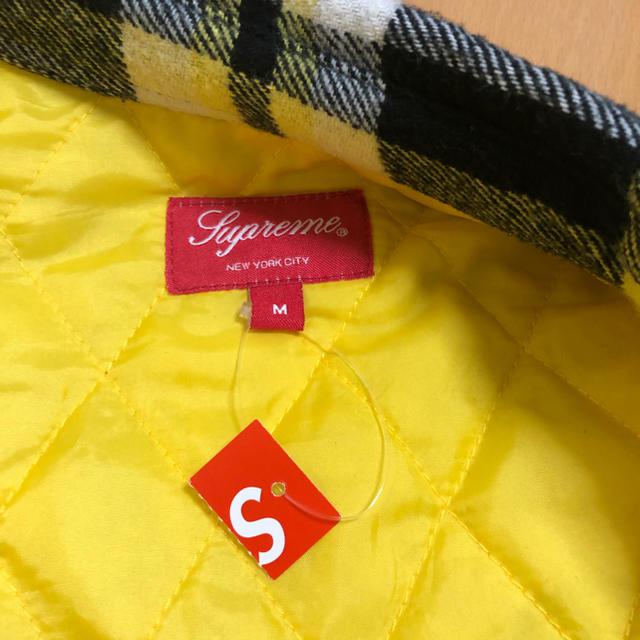 Supreme(シュプリーム)のsupreme Arc Logo Flannel Shirt Mサイズ メンズのトップス(シャツ)の商品写真