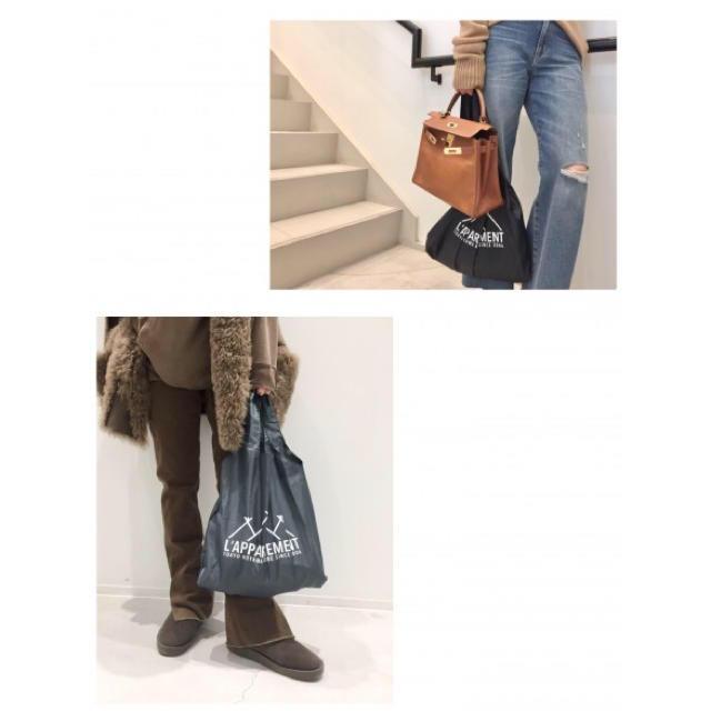 L'Appartement DEUXIEME CLASSE(アパルトモンドゥーズィエムクラス)の専用     アパルトモン ノベルティ バッグ パープル レディースのバッグ(エコバッグ)の商品写真