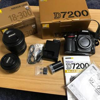 Nikon - Nikon D7200 ボディ+レンズ18-300mm、35mm