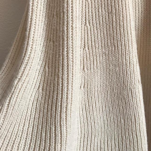 snidel(スナイデル)の美品★ snidel シースルードット袖 ニットワンピース レディースのワンピース(ひざ丈ワンピース)の商品写真