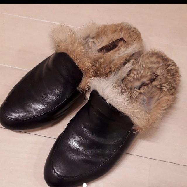 JOURNAL STANDARD(ジャーナルスタンダード)のジャーナルスタンダード 本革+リアルファー ローファー レディースの靴/シューズ(ローファー/革靴)の商品写真