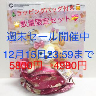 ダッフィー - ☆クリスマスセット☆ お顔厳選♪香港ディズニークッキー ぬいぐるみ Sサイズ ♪