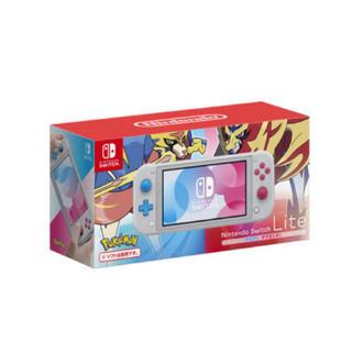 Nintendo Switch - Nintendo Switch Lite ザシアン・ザマゼンタ新品未使用