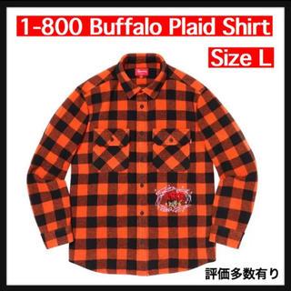 シュプリーム(Supreme)の【L】1-800 Buffalo Plaid Shirt(シャツ)