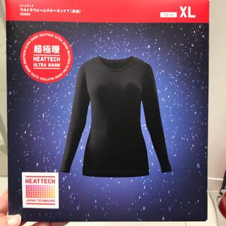UNIQLO - 新品未使用 ユニクロ 超極暖 レディース XLサイズ ブラック  黒