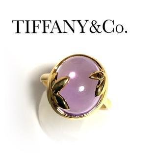 Tiffany & Co. - ティファニー TIFFANY K18YG アメジスト オリーブ リング