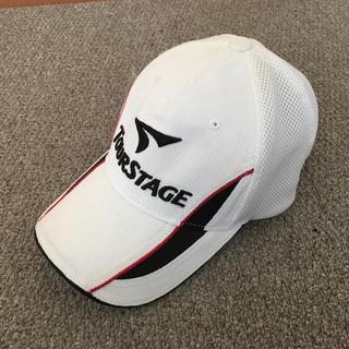 ツアーステージ(TOURSTAGE)のTOUR STAGE・メンズゴルフキャップ(ウエア)