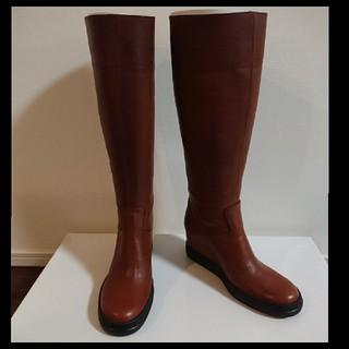 サヤ(SAYA)の新品未使用 SAYA サヤ ウエッジロングブーツ(ブーツ)