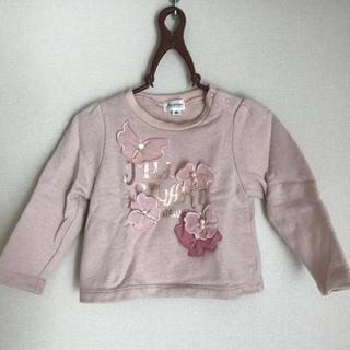 ジルスチュアートニューヨーク(JILLSTUART NEWYORK)の美品♡JILLSTUART NEWYORK♡キッズトレーナー90(Tシャツ/カットソー)