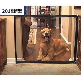 S:110*72cmペットゲート 犬 ペットフェンス ベビーゲート Estep多