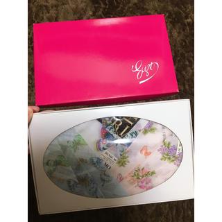 ハナエモリ(HANAE MORI)の【即購入OK♡新品未使用】箱付き♡ハナエモリ ハンカチ3枚セット♡(ハンカチ)