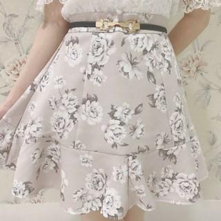 evelyn - 花柄スカート