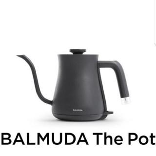 バルミューダ(BALMUDA)の新品未開封 バルミューダ ケトル ブラック(その他)
