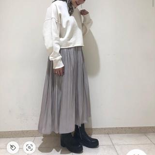 ジーナシス(JEANASIS)のジーナシス    プリーツスカート(ロングスカート)
