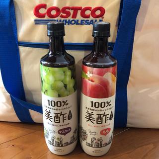 コストコ(コストコ)の美酢 マスカット&もも 2本セット(ソフトドリンク)