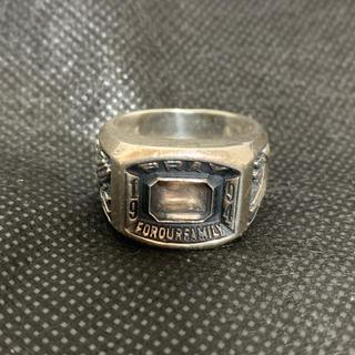 ネイバーフッド(NEIGHBORHOOD)のネイバーフッド カレッジリング 21号 ジャンク品(リング(指輪))