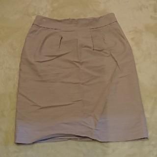 アンタイトル(UNTITLED)のUNTITLED ライトベージュ スカート(ひざ丈スカート)