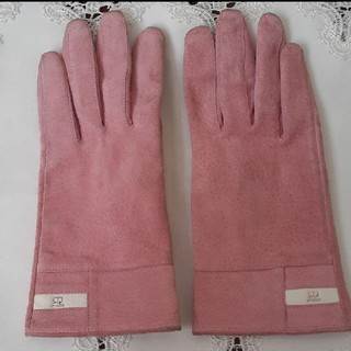 クレージュ(Courreges)のcourregesスエード手袋(手袋)