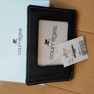 クレージュ(Courreges)のパスカード(名刺入れ/定期入れ)