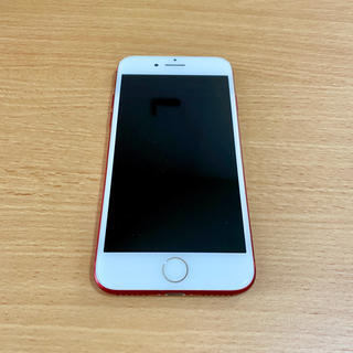 iPhone - iPhone7 128GB RED SIMロック解除済