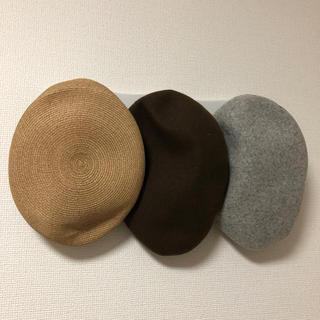 CA4LA - 美品/CA4LA/ベレー帽3点セット/送料込み