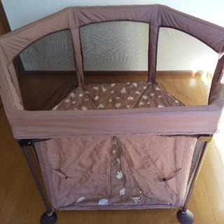 日本育児 - 洗えて畳めるベビーサークル フロアマット